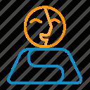 compressor, identity, perm icon