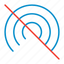 off, portable, wifi icon