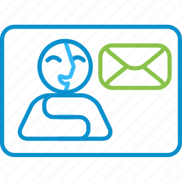 compressor, contacts, mail, quick icon