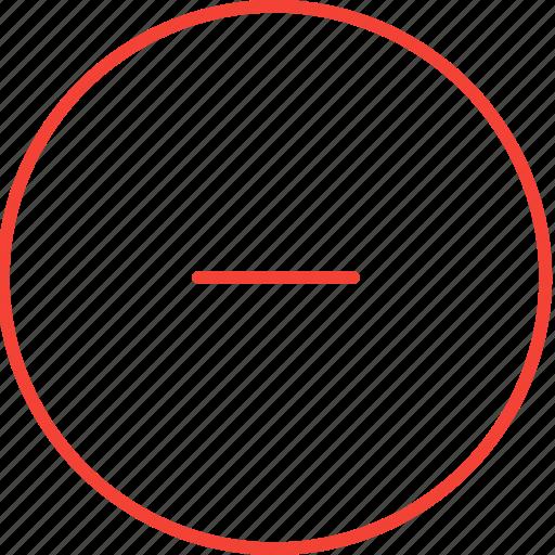 circle, compressor, remove icon