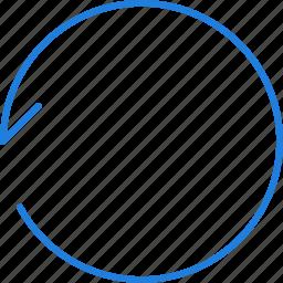 compressor, replay icon