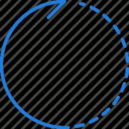 compressor, right, rotate icon
