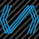 compressor, polymer icon