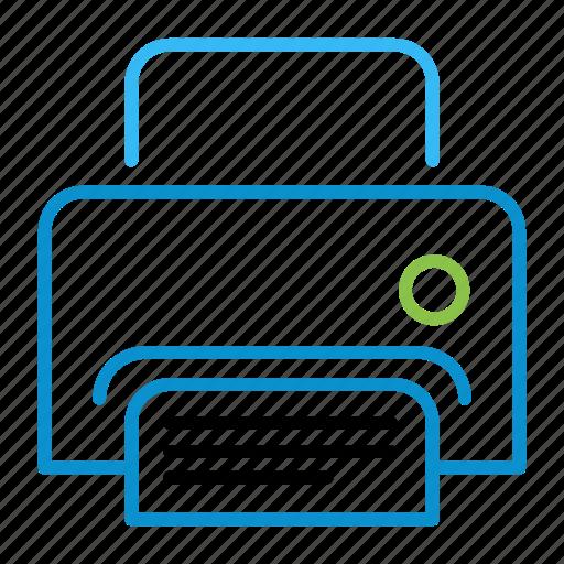 compressor, print icon