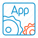 applications, compressor, settings icon