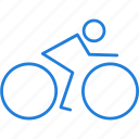 bike, directions icon