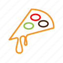 local, pizza icon