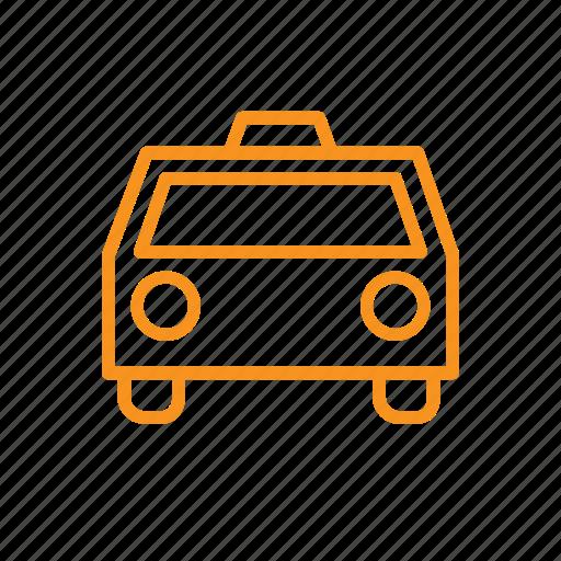 local, taxi icon