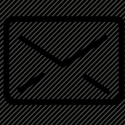 envelope, mail, message, notice, postoffice, send, subscription, unread icon
