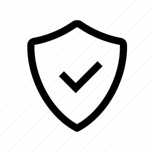 accept, authorization, encrypted, guarantee, insurance, protected, safe, secured, shield, verified icon