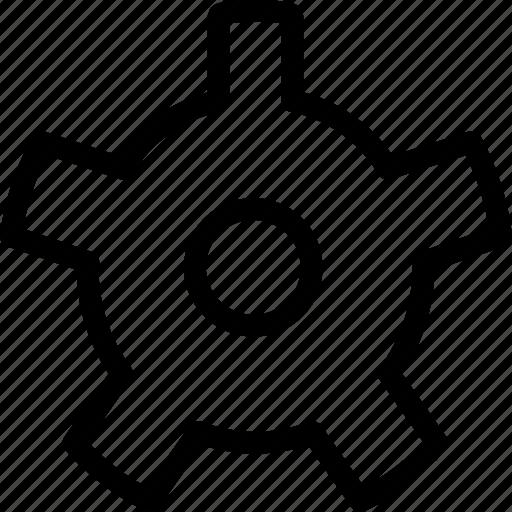 discord, gear, pixel icon, settings icon