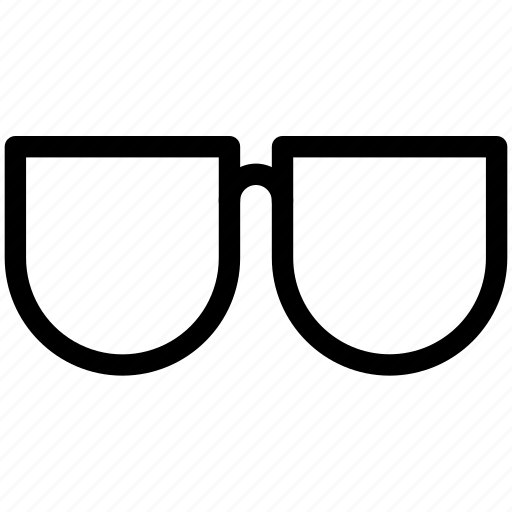 glass, glasses, hipster, pixel icon icon