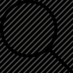 glass, magnifine icon