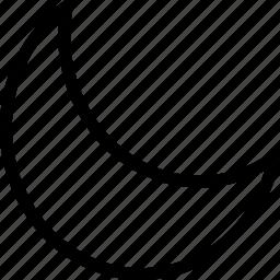 moon, night, pixel icon, stars icon