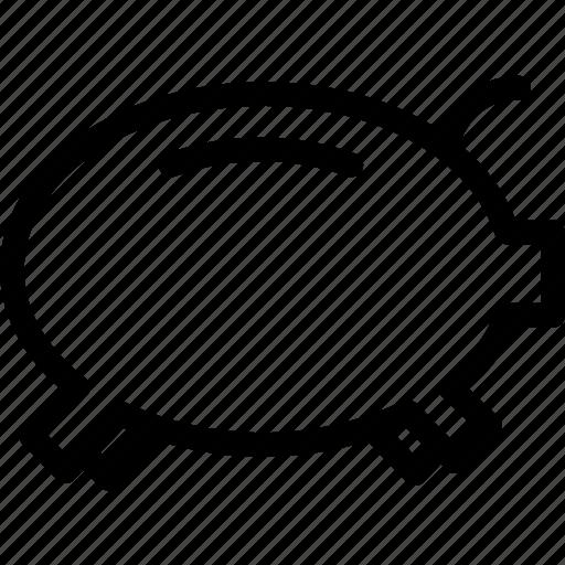 business, coin, euro, pig, piggy, savings icon