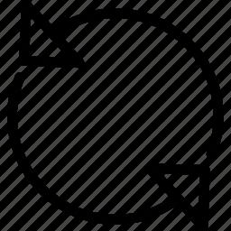 pixel icon, refresh, reload, restore icon