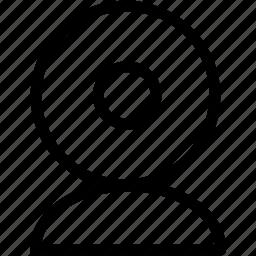 cam, web icon