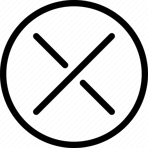 cancel, close, delete, exit, pixel icon, remove, trash icon