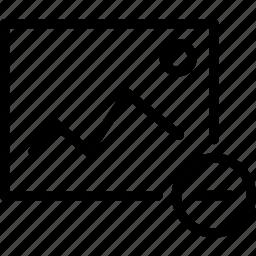 delete, interface, pic, pixel icon icon