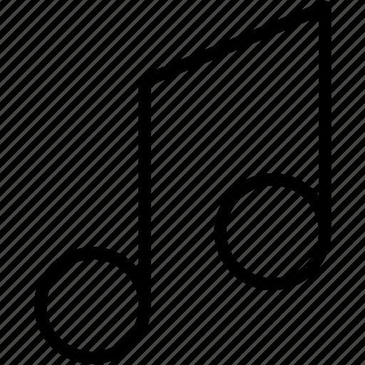 dubble, note, sound icon