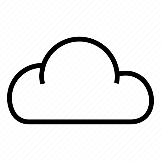 cloud, cloudy weather, sky, weather, weather forecast icon