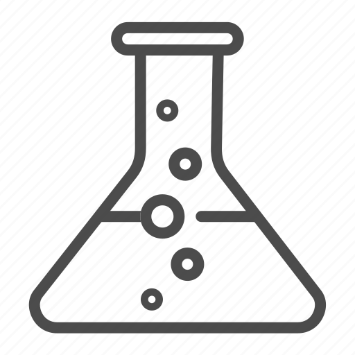 chemical, flask, liquid, science icon