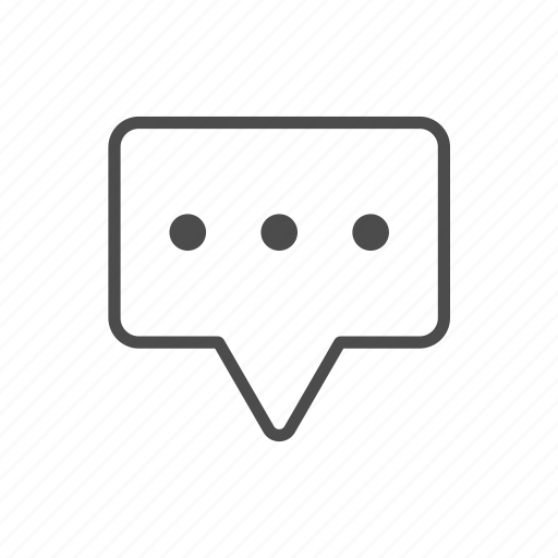 Bubble, chat, chat bubble, chat window, communication icon - Download on Iconfinder