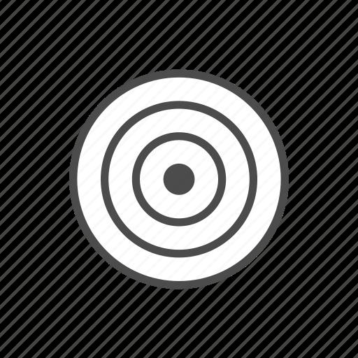 Aim, arrow, bullseye, center, shoot, target icon - Download on Iconfinder