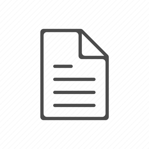 Document, file, office, page, paper, paragraph icon - Download on Iconfinder