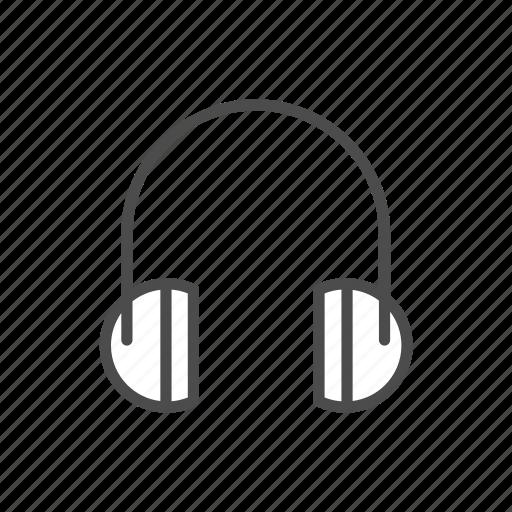 Audio, headphone, headphones, music, play icon - Download on Iconfinder
