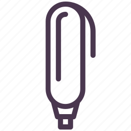 bold, colour, highlight, highlighter, mark, marker, pointer icon
