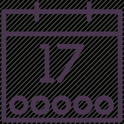 calendar, date, day, event, graficheria, month, schedule icon