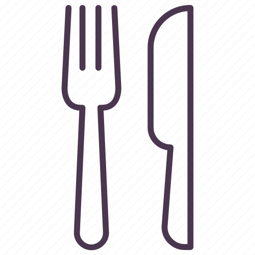 eat, food, fork, knife, location, navigation, restaurant icon