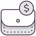 buy, cash, currency, dollar, finance, money, wallet icon