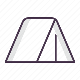 camping, nature, outdoors, picnic, tent travel, wigwam icon