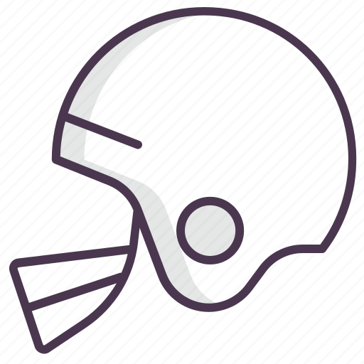 american, football, game, helmet, protection, safety, sport icon
