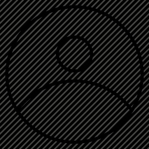 account, avatar, human, male, profile, user icon