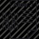 content, crawler, index, robot, spider, txt, web icon