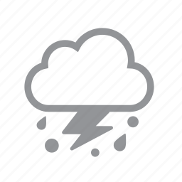 hail, storm icon