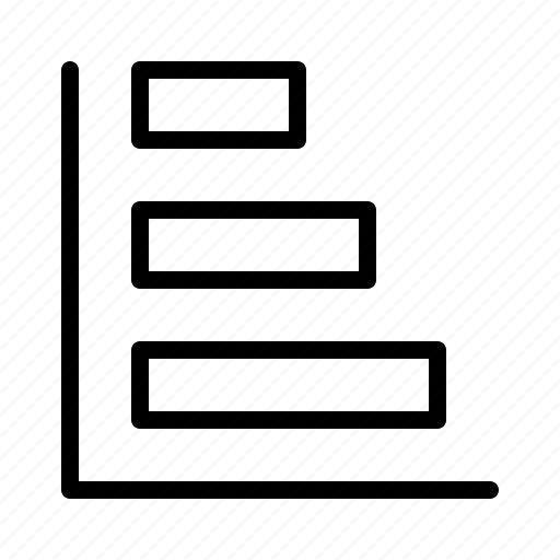bar, business, chart, presentation, statistics, vertical icon