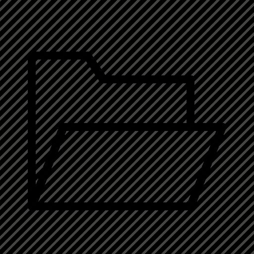 application, folder, interface, open, software, web icon