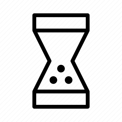 Sand, time, hourglass, hour, wait icon