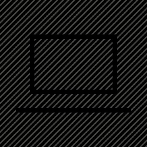 device, electronics, hardware, laptop, notebook icon