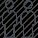 account, business, collaboration, finance, person, profile icon