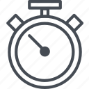 alarm, business, finance, schedule, stopwatch, time, timer icon