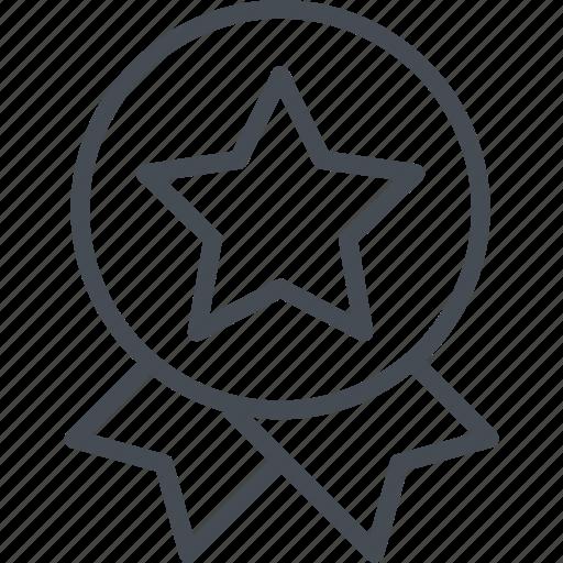 award, badge, business, finance, prize, star, winner icon
