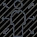 business, disverse, finance, person, user icon