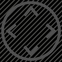 control, manage, move, navigate, operation, regulation icon