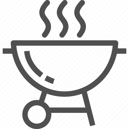 barbeque, coal, grill, heat, hot, kitchen, oven icon