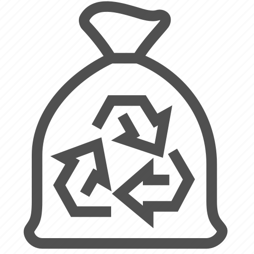 Bag, disposal, dump, environmental, garbage, recycling, rubbish icon - Download on Iconfinder